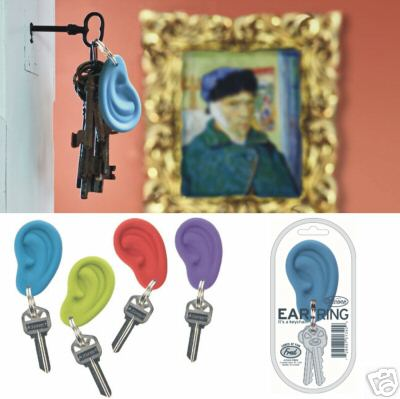 """EAR""RINGS EAR KEY RING"