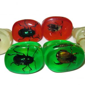 """PET BUG"" RING - GREEN"