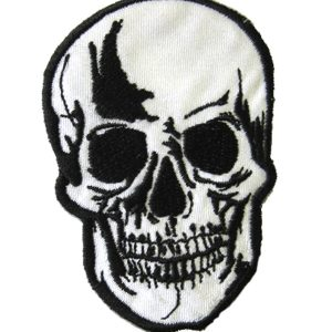 REALISTIC SKULL PATCH