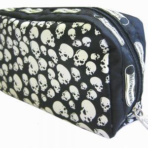 PILES OF SKULLS MAKE-UP BAG