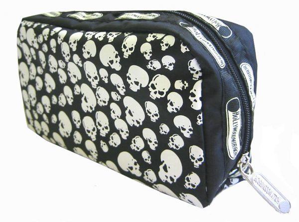 PILES OF SKULLS MAKE-UP BAG