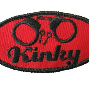 KINKY / HANDCUFFS IRON-ON PATCH
