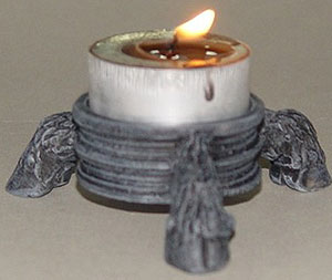 DEMON HOOVES TEALIGHT HOLDER PAGAN