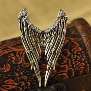 LARGE ADJUSTABLE WINGS RING