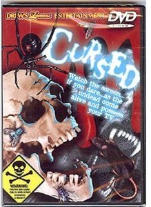 CURSED - TERRIFYING MOOD SETTER FOR YOUR TV - DVD