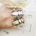 LARGE BEETLE RING - GOLD