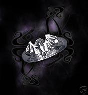 FLEDERMAUS BAT RING BY ALCHEMY GOTHIC SIZE 9.5