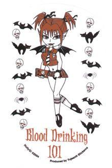 BLOOD DRINKING 101 - VAMPIRE GIRL