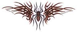 RED DEVIL SPIDER - TRIBAL