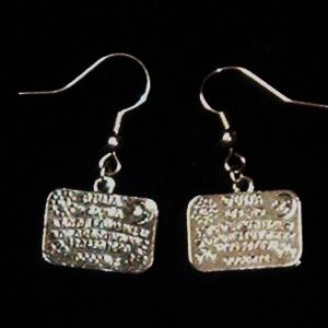 OUIJA BOARD EARRINGS