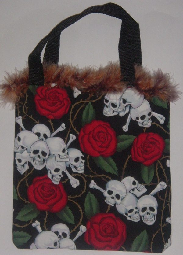 SKULLS & ROSES BAG