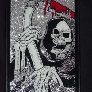 GRIM REAPER GLASS ART