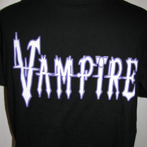 VAMPIRE - BLACK T-SHIRT XL