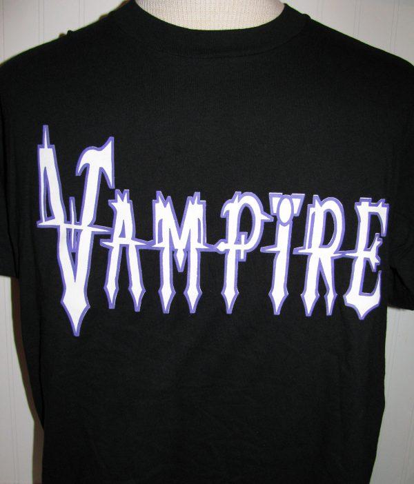 VAMPIRE - BLACK T-SHIRT XL