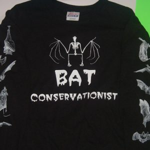 BAT CONSERVATIONIST SKELETON LONG SLEEVE TEE