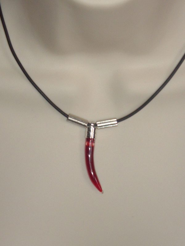 BLOOD VIAL NECKLACE - FANG