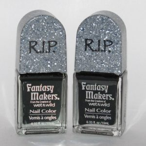 BLACK TOMBSTONE NAIL POLISH (SET OF 2)