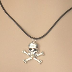 BOOTY FIT FOR A PIRATE'S WENCH!  NECKLACE
