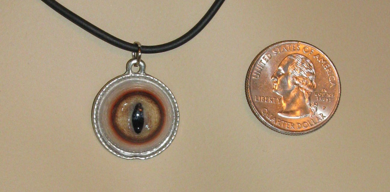 biomech eyeball herkimer necklace diamonds pendant by on dogzillalives art with