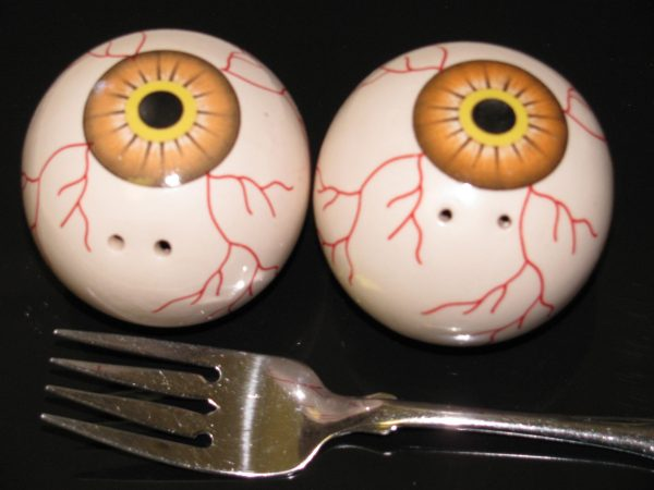 EYEBALL S&P SHAKERS -- BROWN EYES