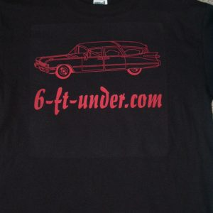 HEARSE T-SHIRT - SMALL