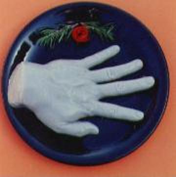 SEVERED HAND GELATIN MOLD
