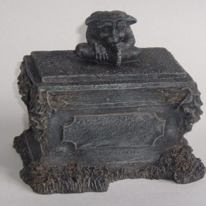 GARGOYLE ON CRYPT STASH BOX