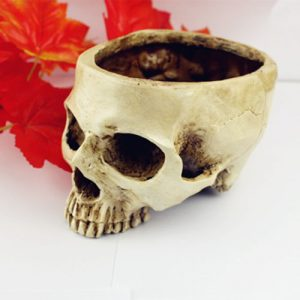 SKULL BOWL OR PLANTER